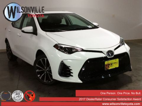 New 2017 Toyota Corolla SE Sedan