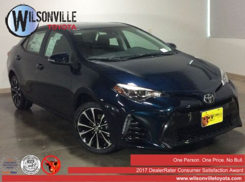 New 2017 Toyota Corolla XSE Sedan