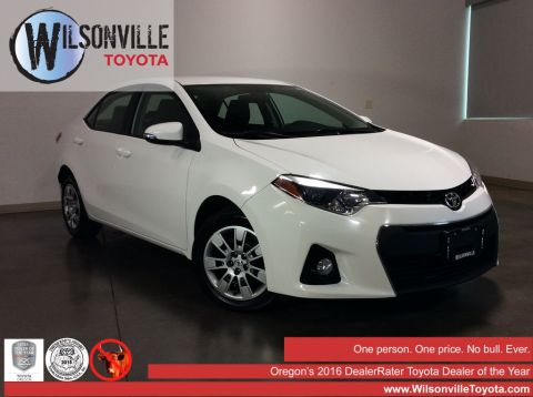 Certified Used Toyota Corolla S