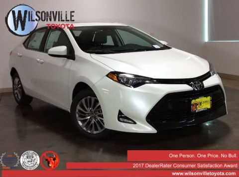 New 2017 Toyota Corolla LE ECO w/Package 1 Sedan