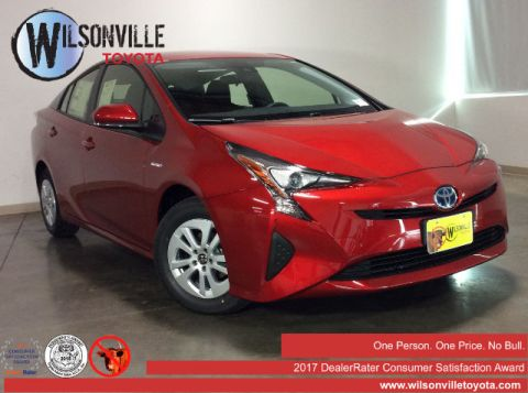 New 2017 Toyota Prius Two w/ Clear Film Protection and Tint Hatchback