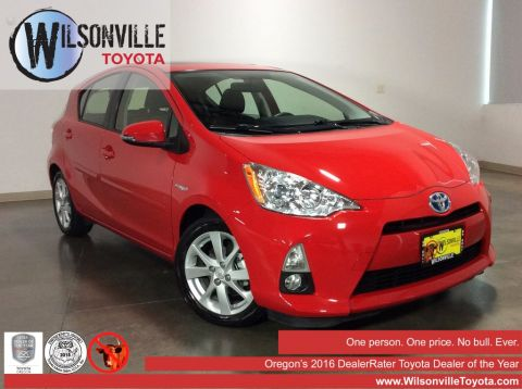 Certified Used Toyota Prius C Four
