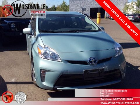 Certified Used Toyota Prius