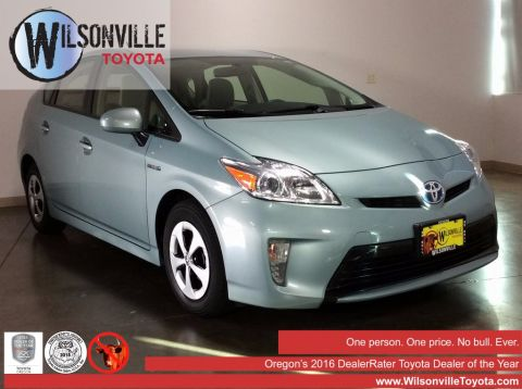 Certified Used Toyota Prius Four