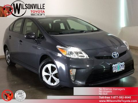 Certified Used Toyota Prius Three