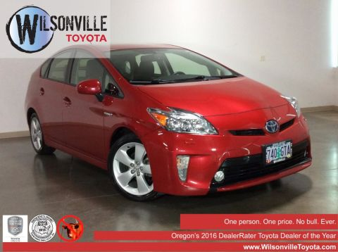 Certified Used Toyota Prius Five