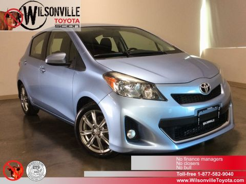Certified Used Toyota Yaris SE