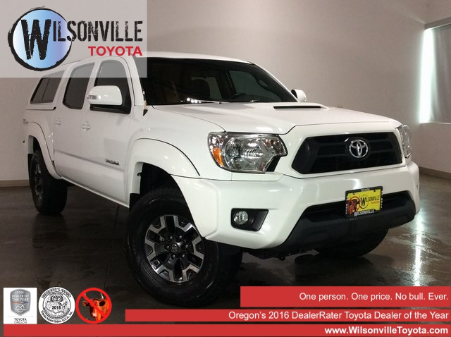Certified Pre Owned 2015 Toyota Tacoma Trd Sport 4d Double Cab In