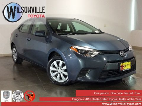 Used 2015 Toyota Corolla LE 4D Sedan