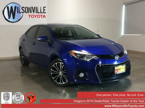 Used 2014 Toyota Corolla S Plus 4D Sedan