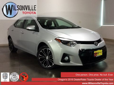 Certified Used 2015 Toyota Corolla S 4D Sedan