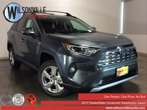 New 2019 Toyota RAV4 Hybrid Limited w/accessories(see description)