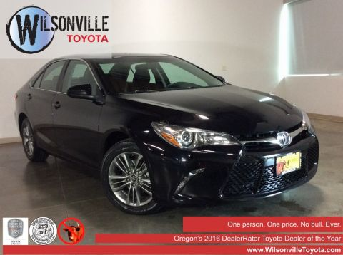 Certified Used 2016 Toyota Camry SE 4D Sedan