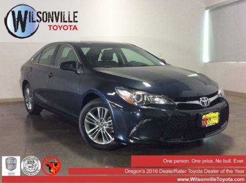 Certified Used 2015 Toyota Camry SE 4D Sedan