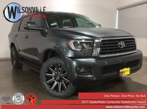 New 2019 Toyota Sequoia SR5 w/accessories (see description)