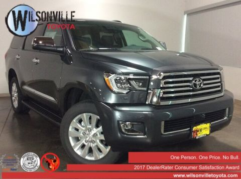 New 2019 Toyota Sequoia Platinum w/accessories (see description)