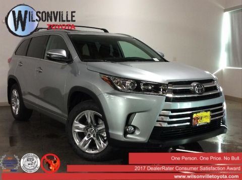 New 2018 Toyota Highlander Limited V6 w/accessories (see description) AWD
