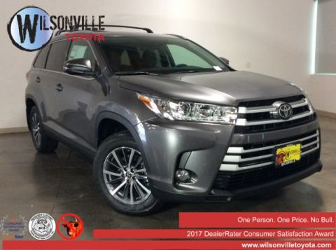 New 2019 Toyota Highlander XLE V6