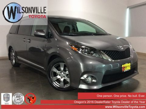 Certified Used 2017 Toyota Sienna With Navigation