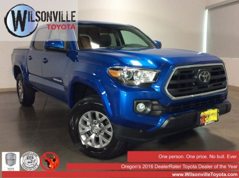 Certified Used 2018 Toyota Tacoma SR5 4D Double Cab