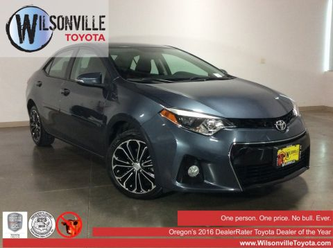 Used 2015 Toyota Corolla S Plus 4D Sedan