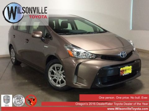 Certified Pre-Owned 2015 Toyota Prius v Three
