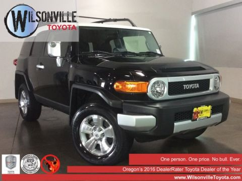 Certified Pre-Owned 2014 Toyota FJ Cruiser
