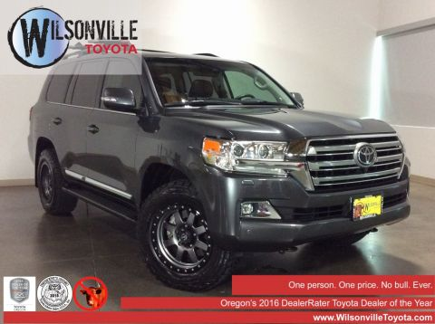 Certified Used 2018 Toyota Land Cruiser 4WD