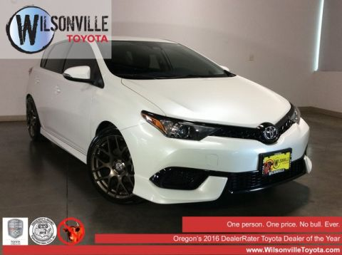 Certified Pre-Owned 2017 Toyota Corolla iM Base